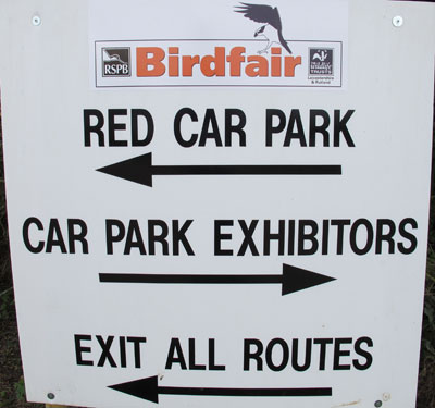 Bird Fair 2012