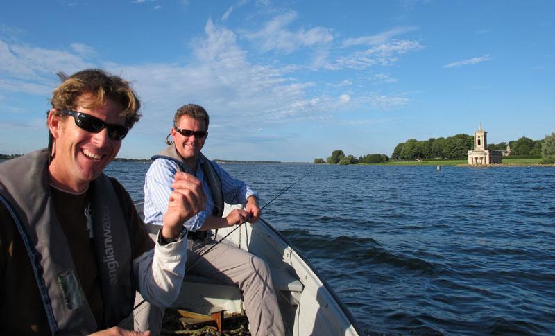 Trout fishing on Rutland Water